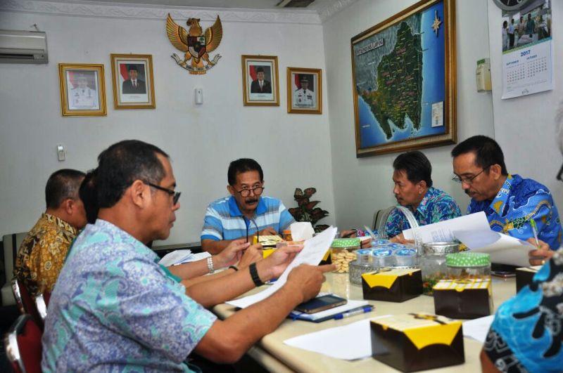 Asisten Bidang Pemerintahan dan Kesra, Hery Suliyanto, pada rapat rencana kunjungan tersebut, Jumat 29 September 2017.