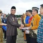 Pemprov  Lampung Berikan Penghargaan Pada 14 Orang Berprestasi Dalam Pembangunan Ketahanan Pangan