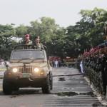 Peringati HUT ke-72 TNI di Lampung Dipustkan di Lapangan Saburai