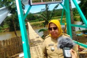 Waka Bidang Humas Kwarda Gerakan Pramuka Lampung Bahagiati di Dusun Jogowiryo, Desa Yogyakarta, Kecamatan Gading Rejo, Pringsewu, Selasa 24 Oktober 2017.