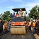 Gubernur Lampung Naikkan Target Jalan Mantap dari 75% Jadi 77%