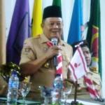 Pramuka Lampung Serahkan Bumbung Kemanusiaan Untuk Lombok