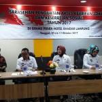 Kadis Sosial Lampung Membuka Sarasehan Sosial dan Akses Kearifan Lokal