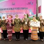 Ketua TP PKK Lampung Yustin Ficardo Kampanye Deteksi Kanker Serviks