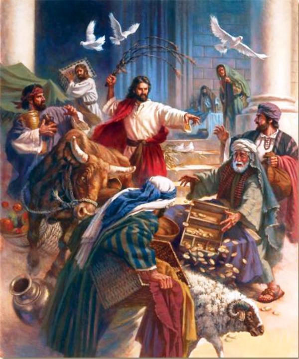 Ilustrasi Yesus. Credits : dinamikaiman.wordpress.com