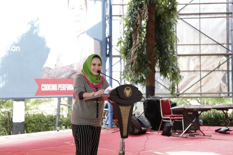 Ketua Forum Peningkatan Konsumsi Ikan (Forikan) Provinsi Lampung, Yustin Ridho Ficardo.