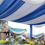 Buka Porprov VIII Lampung, Gubernur Ridho Minta Junjung Sportivitas