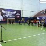 Gubernur Ridho Buka Liga Futsal Nusantara 2017