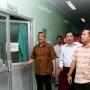 Gubernur Lampung Muhammad Ridho Ficardo saat meninjau Rumah Sakit Umum Daerah Abdul Moeleok (RSUDAM), Kamis 16 November 2017.