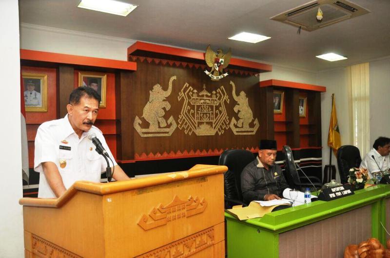 Asisten Bidang Pemerintahan dan Kesra, Heri Suliyanto.