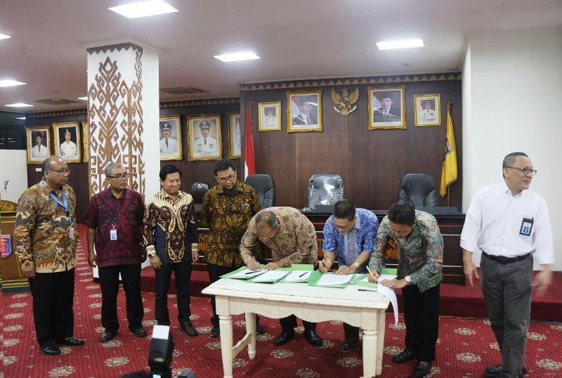 Pekan Teknologi Mineral Balai Penelitian Teknologi Mineral LIPI di Ruang Abung, Balai Keratun, Kamis 9 November 2017.