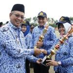 Pemprov Lampung Serahkan 3.000 Rumah Program BSPS