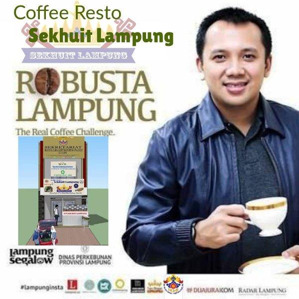 Coffe Resto Sekhuit dan Galeri Lampung