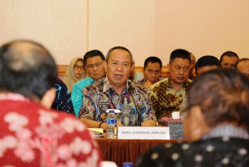 Wakil Gubernur Lampung Bactiar Basri.