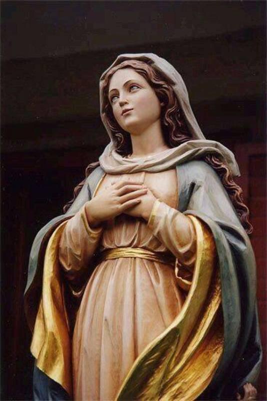 Patung Bunda Maria. Credit : google