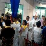 Mgr. Yohanes Harun Yuwono Pimpin Misa Malam Natal di Gereja Katedral Kristus Raja