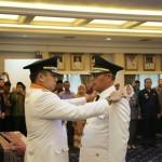 Gubernur Ridho Lantik Samsul Hadi sebagai Bupati Tanggamus