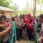 Gubernur Ridho Bersama Relawan VRI Lampung Bangun 2 Jembatan Gantung Sekaligus di Pesawaran