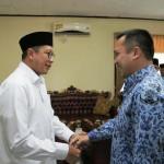 Atas Permintaan Ridho Kemenag Berjanji Radin Inten II Embarkasi Haji  Penuh Tahun 2018