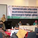 Pemprov Lampung Komit Dukung BPOM Awasi Obat dan Makanan
