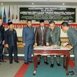 Gubernur Ridho Apresiasi Dewan atas Disetujuinya 10 Raperda
