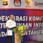 Wagub Bachtiar Saksikan Penandatanganan Deklarasi Keterbukaan Informasi Pilkada 2018