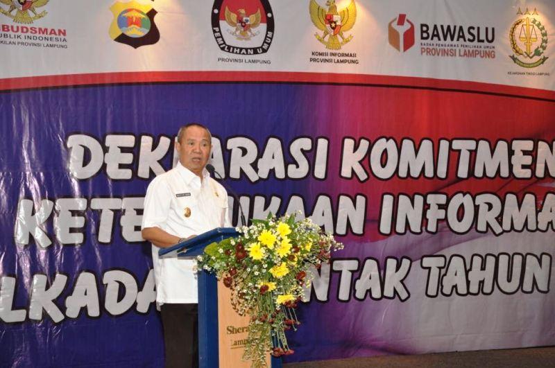 Wakil Gubernur Bachtiar Basri.