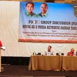 FGD Revisi II Perda soal Restribusi, Gubernur Minta Pendapatan Daerah Bisa Dioptimalkan