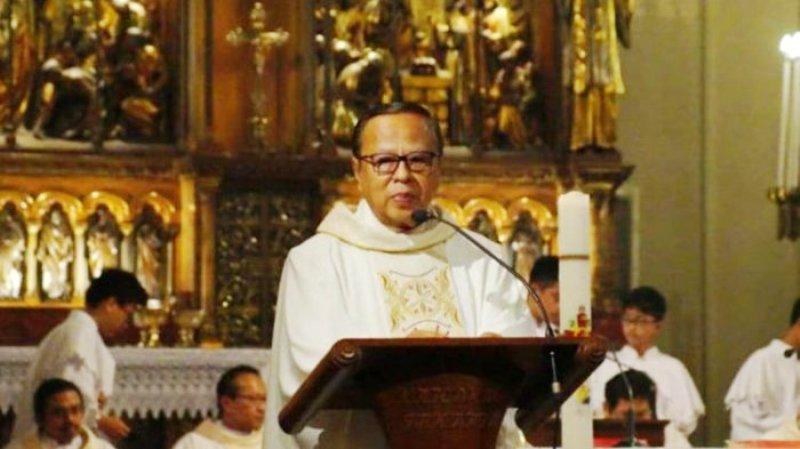 Uskup Keuskupan Agung Jakarta Mgr Ignasius Suharyo. Credit : jateng.tribunnews.com