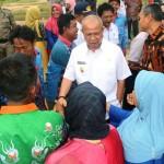 Ribuan Siswa dan Guru di Mesuji Gegap Gempita Sambut Wagub Bachtiar Basri