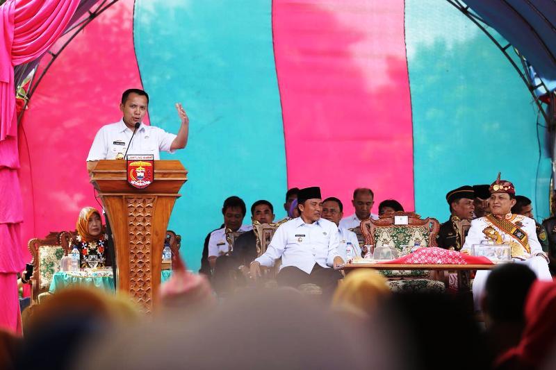 Gubernur Lampung Muhammad Ridho Ficardo.