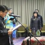 Gubernur Ridho Implementasikan PP No.11/2017 dalam Pelantikan 132 Pejabat Fungsional Pemprov