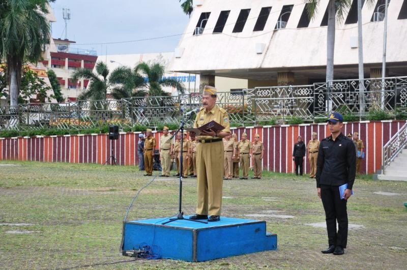 Asisiten Bidang Pemerintahan dan Kesejahteraan Rakyat Heri Suliyanto.