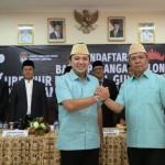 Pendaftaran Ridho Berbakti Jilid II Ke KPUD Lampung Patahkan Anggapan Incumbent Tidak Dapat Perahu