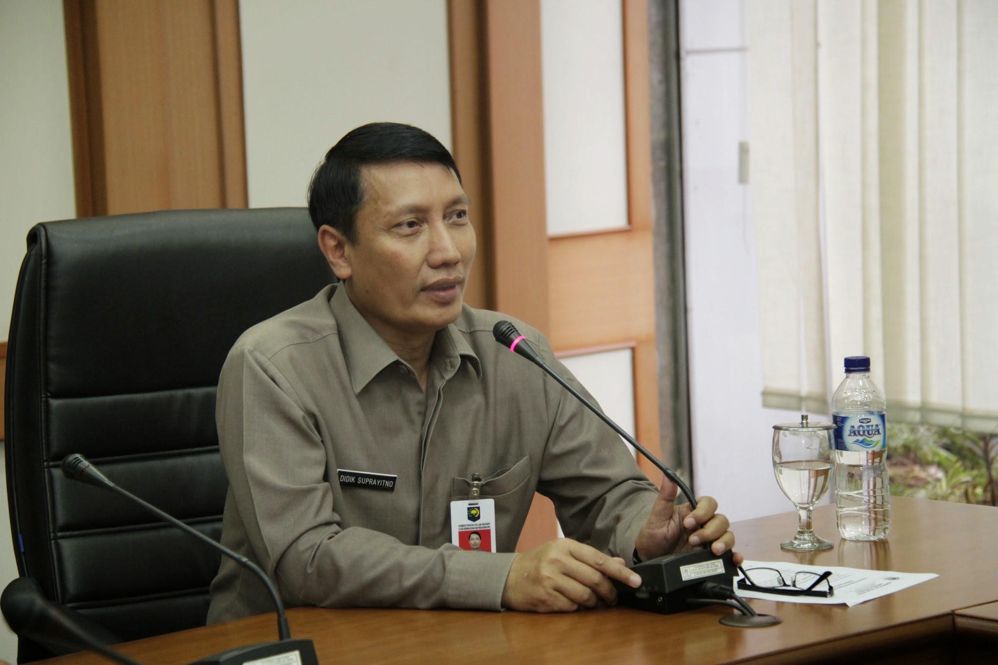 Pjs. Gubernur Lampung Didik Suprayitno. Sumber foto : Google plus