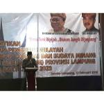 Pemprov Lampung Ajak Gebu Minang Terus Berpartisipasi dalam Pembangunan