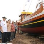"""Wagub Bachtiar Luncurkan Kapal Wisata """"Samudra Krakatau"""""""
