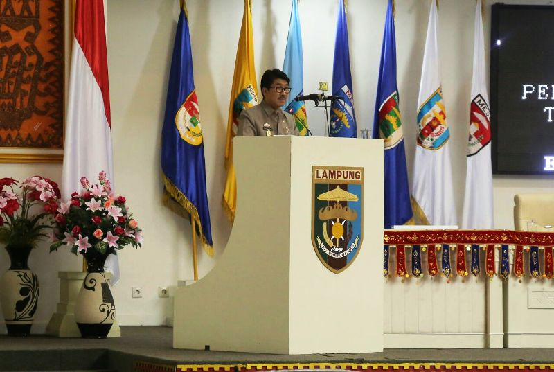 Plt. Sekretaris Daerah Provinsi Lampung Hamartoni Ahadis
