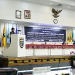 Plt. Sekdaprov Hamartoni Beri Jawaban Atas Tanggapan Fraksi tentang Raperda Pinjaman Daerah