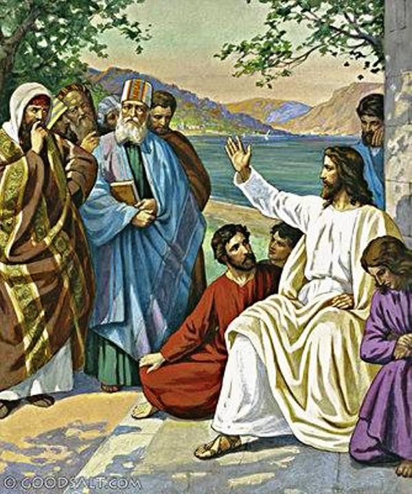 Ilustrasi Yesus. Credits : www.facebook.com/thomas.suratno