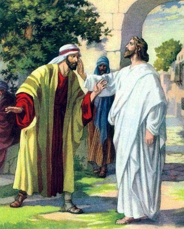 Ilustrasi Yesus Kristus. Credits : www.facebook.com/thomas.suratno.7