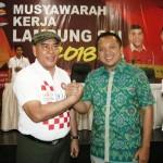Gubernur Ridho Disambut Penuh Keakraban di Musyawarah Kerja Lampung Sai