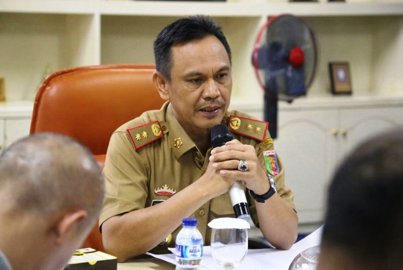 Plt. Asisten Bidang Ekonomi dan Pembangunan Provinsi Lampung Taufik Hidayat.
