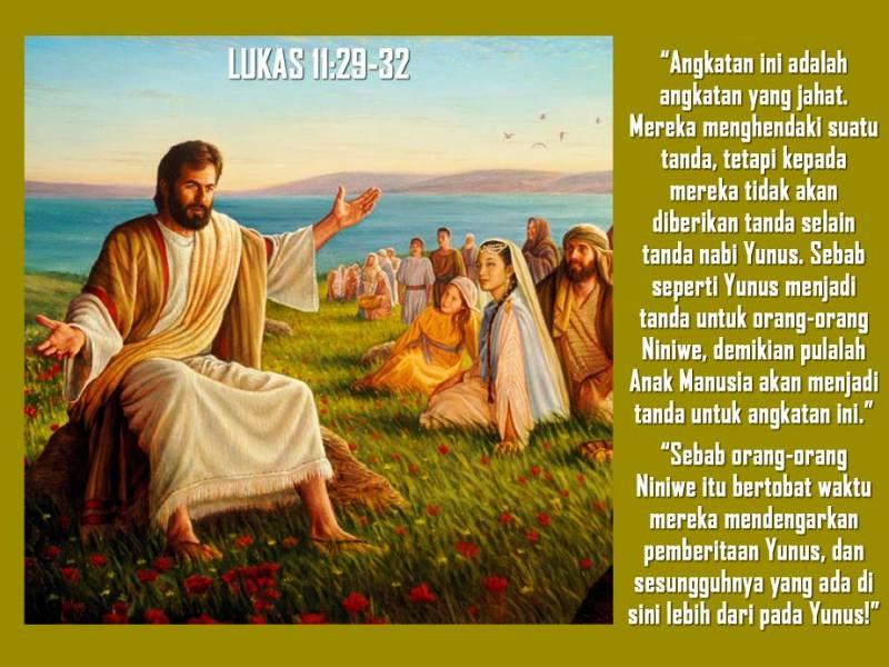 Ilustrasi Yesus mengajar. (www.facebook.com/thomas.suratno.7)