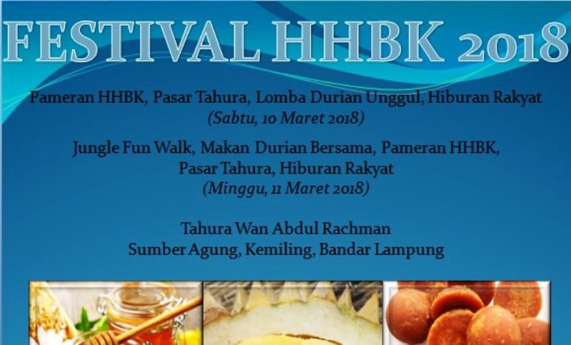 Festival Hasil Hutan Bukan Kayu 2018.