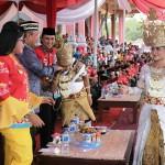 Pjs. Gubernur Didik Supayitno Buka Festival Megou Pak Tuba ke-21