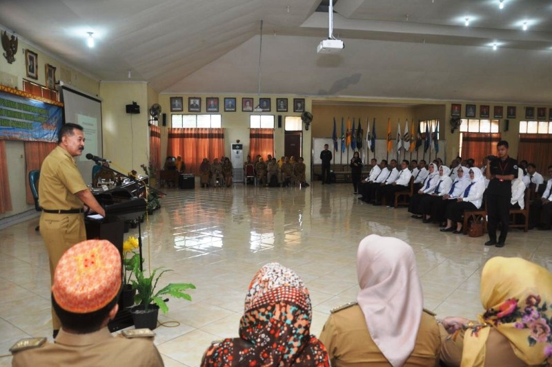 Asisten Pemerintahan dan Kesra Sekda Provinsi Lampung Hery Suliyanto.