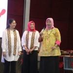Rombongan OASE Kabinet Kerja Melanjutkan Kunjungan ke UBL dan Dekranasda Lampung
