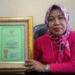 Dinas Ketahanan Pangan Provinsi Lampung Terima Penghargaan Abdibaktitani