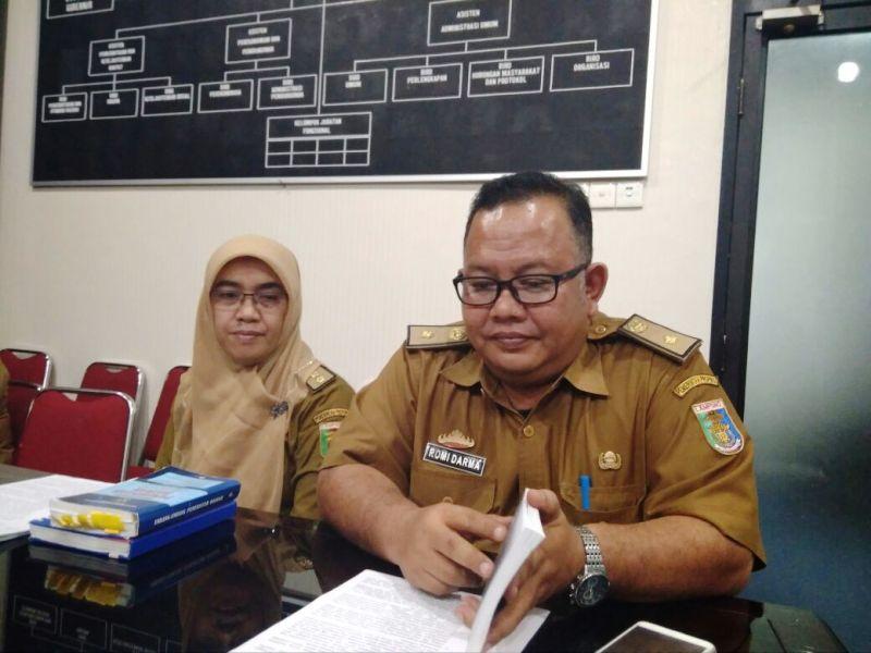 Kepala Bagian Kebijakan Daerah Biro Hukum Setprov Lampung Sulistiyawati.